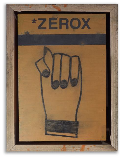 , 'Zerox,' 2015, StolenSpace Gallery