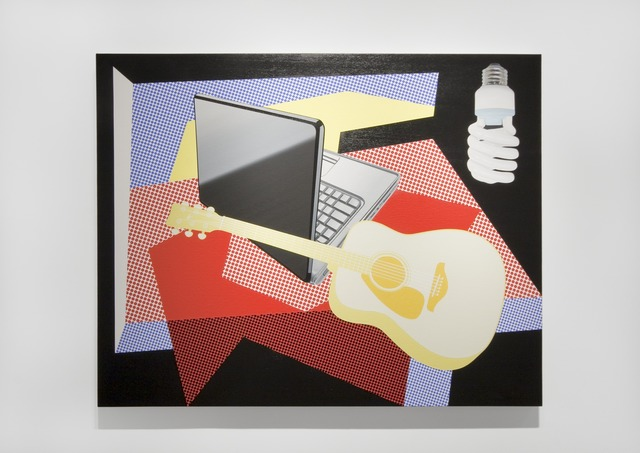 Douglas Coupland, 'Modern Still Life with Laptop and Energy Efficient Light Bulb,' 2013, Daniel Faria Gallery