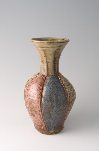 Tatsuzo Shimaoka, 'Vase, rope and slip inlay', Pucker Gallery