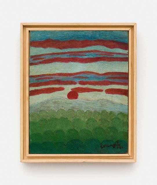 , 'Sol e Céu Vermelho,' 1980, Mendes Wood DM