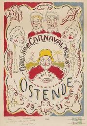 Affiche pour le Carnaval d'Ostende (T.142)