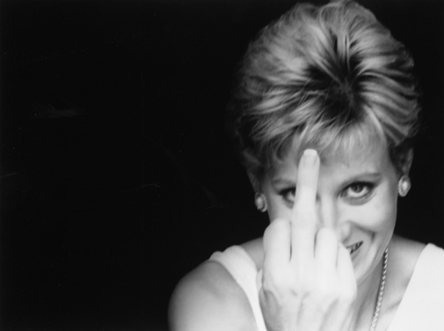 , 'Diana Finger Up,' 2000, Raffaella De Chirico