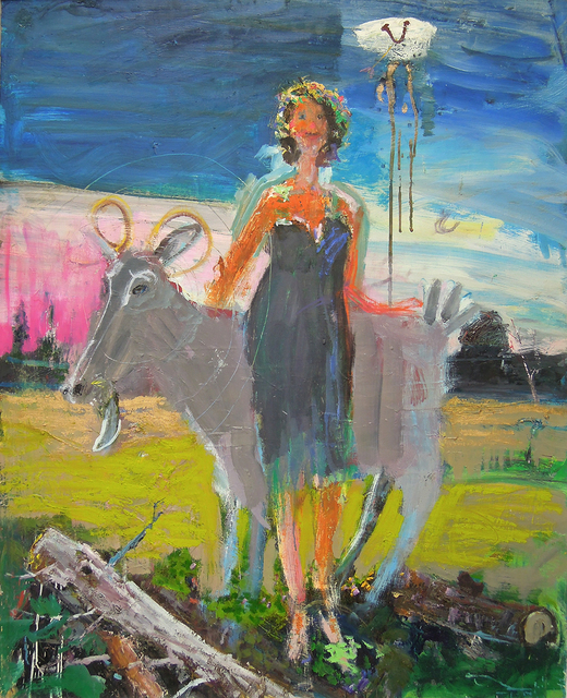 , 'Girl 'n' Goat,' , Greenhut Galleries