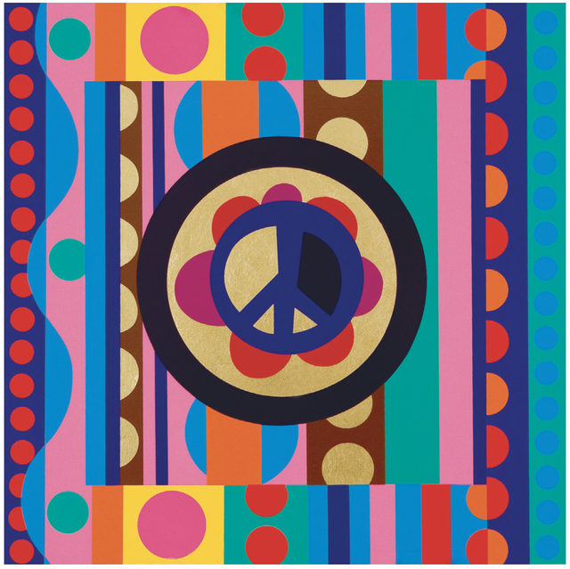 Beatriz Milhazes, 'Flip-Flop', 2010, McClain Gallery