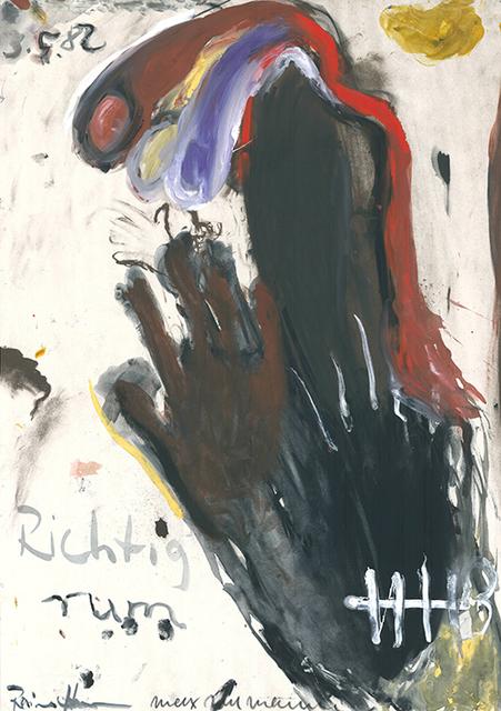 Max Neumann, 'Richtig rum', 1982, Sylvan Cole Gallery