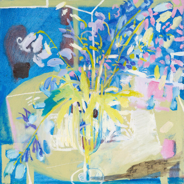, 'Sparkling Bluebells,' 2017, Candida Stevens Gallery