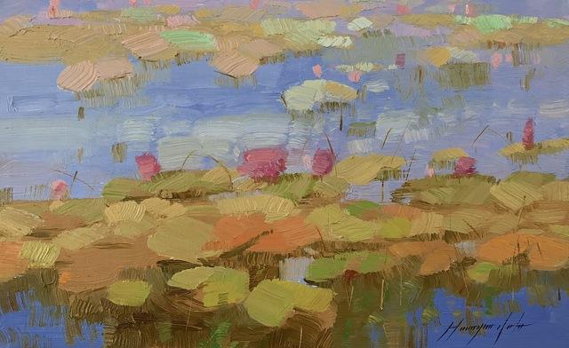 Vahe Yeremyan, 'Waterlilies Pond', 2018, Vayer Art