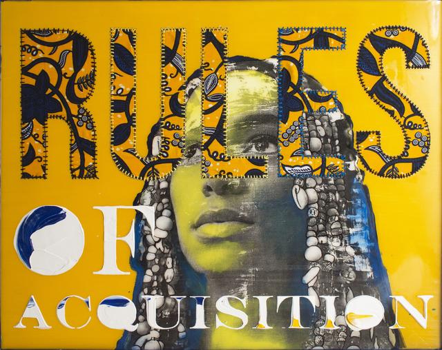 , 'RULES (Ferengi Feminism),' 2017, Coagula Curatorial
