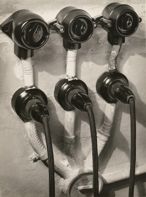 , 'Switches and Sockets,' 1933, J. Paul Getty Museum