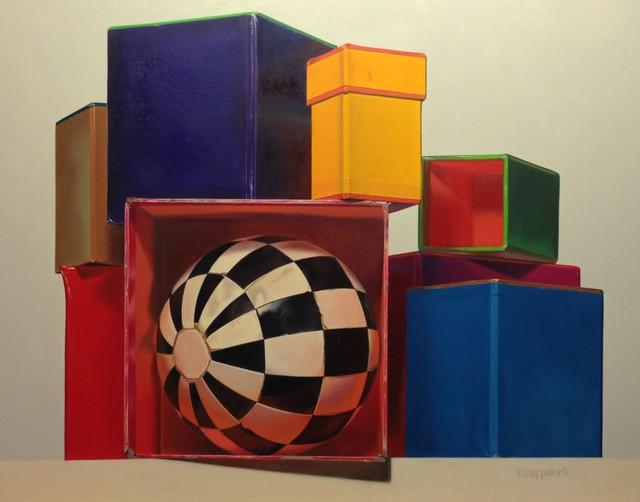 , 'Geometric Shapes,' 2018, Cavalier Galleries