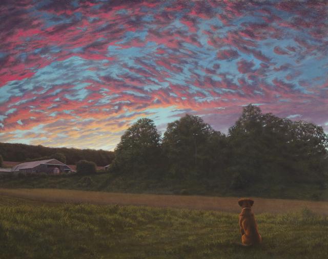 Nathan Loda, 'Blaze at Sunset', 2019, Adah Rose Gallery