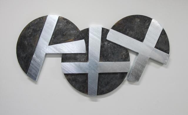 , 'XO Wall Trio A,' 2015, Turner Carroll Gallery
