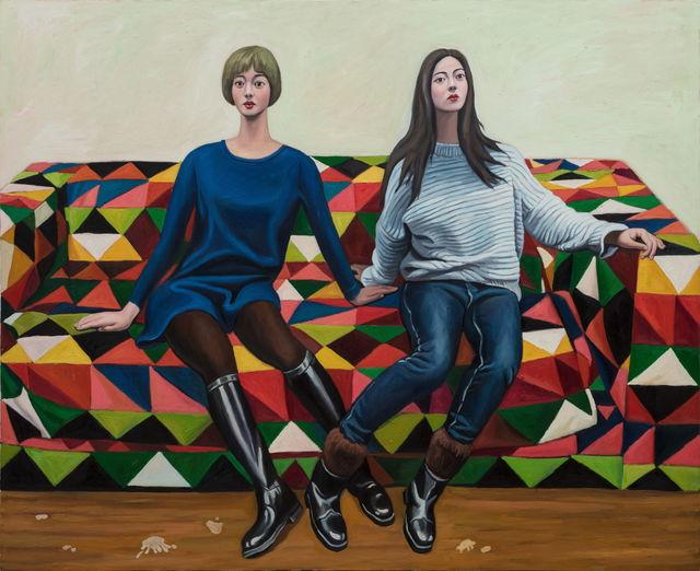 , 'Girlfriend,' 2018, Tang Contemporary Art