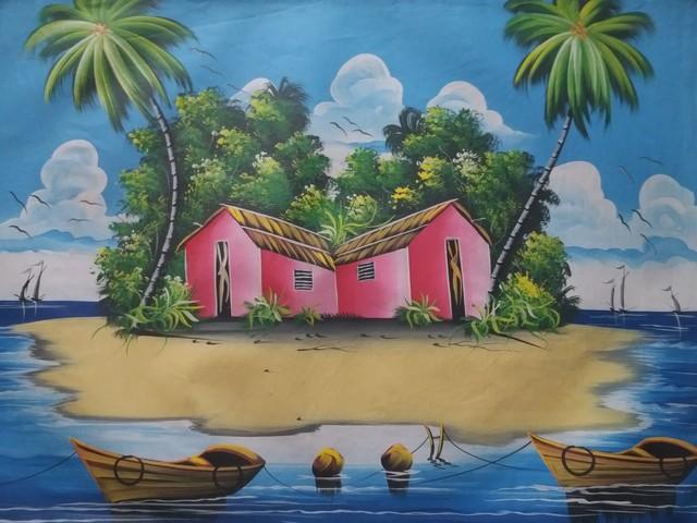 Anonymous, 'Paradis des Antilles', 2018, Jonathan Cavé