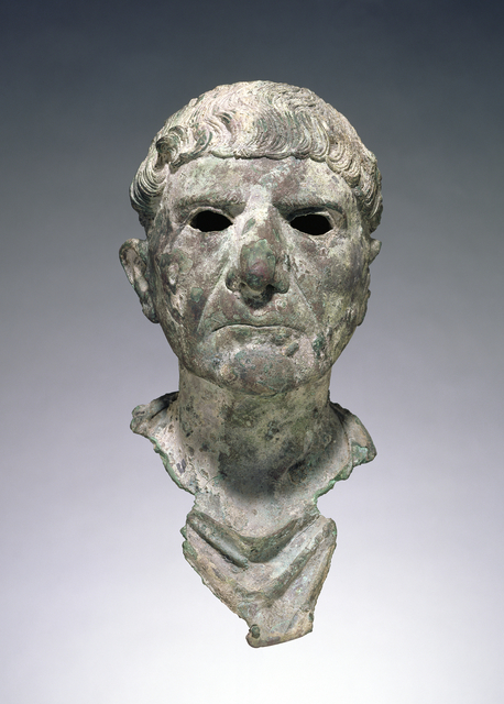 'Bust of a Man', 90 -110, J. Paul Getty Museum