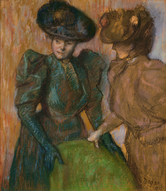 Edgar Degas, 'The Conversation', 1895, Legion of Honor