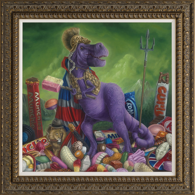 Peter Smith, 'The British Empire's Tenpenny Britannisaurus Rex', 2019, Castle Fine Art