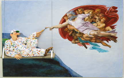 , 'Creation of Adam (Michelangelo),' 2015, Zenith Gallery