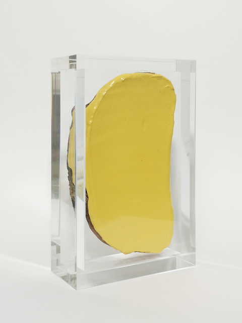, 'Not afraid of pale yellow,' 2019, LAGE EGAL