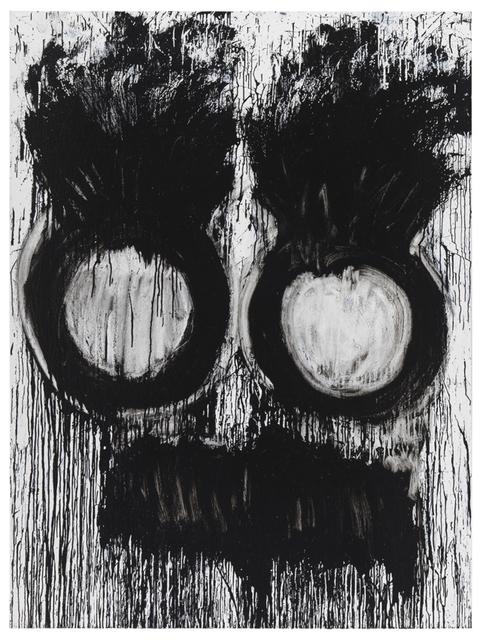 Joyce Pensato, 'Not Groucho', 2011, Painting, Enamel on linen, Petzel Gallery