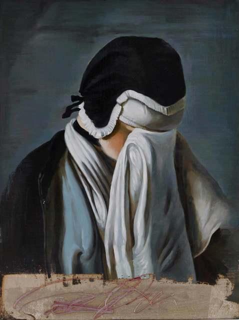 , '捂脸女孩的肖像 Portrait of young girl hiding her eyes ,' 2017, Shanghai Gallery of Art