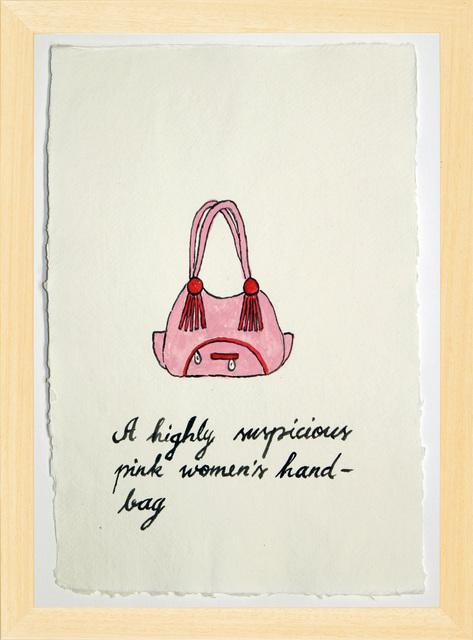 , 'Suspicious Bags: Pink Women's Hand Bag,' 2018, Temnikova & Kasela