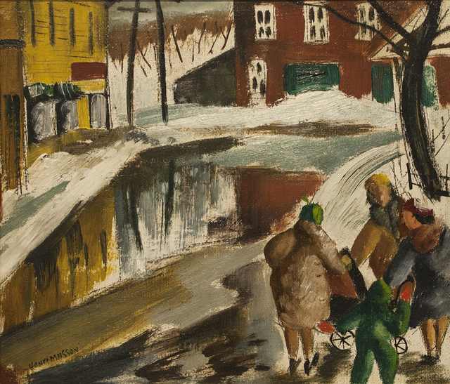 , 'Conversation,' , Canadian Fine Arts