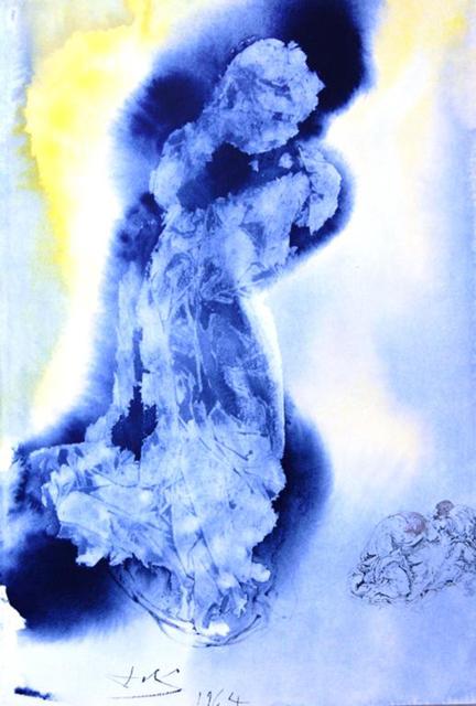Salvador Dalí, 'The Spirit Is Willing, But The Flesh Is Weak', 1967, Baterbys
