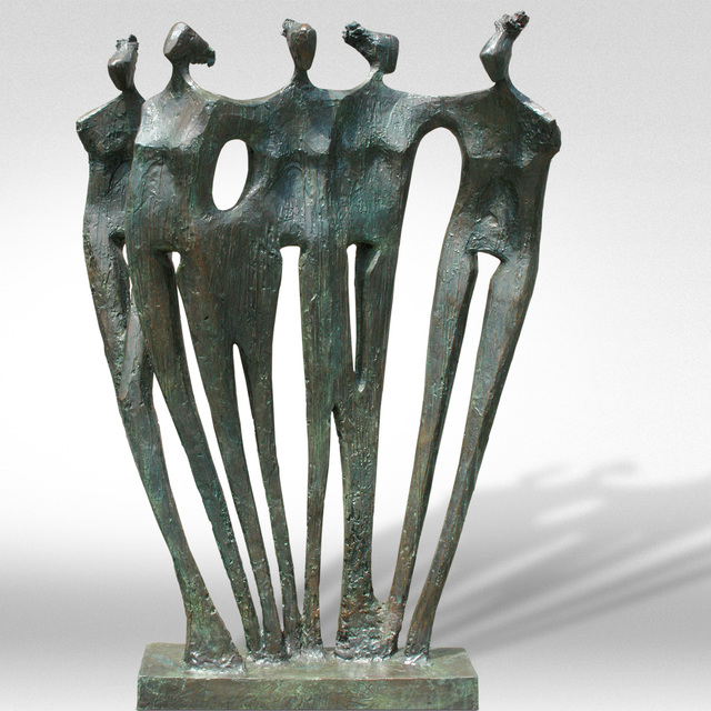 , 'Family Group,' , ÆRENA Galleries and Gardens