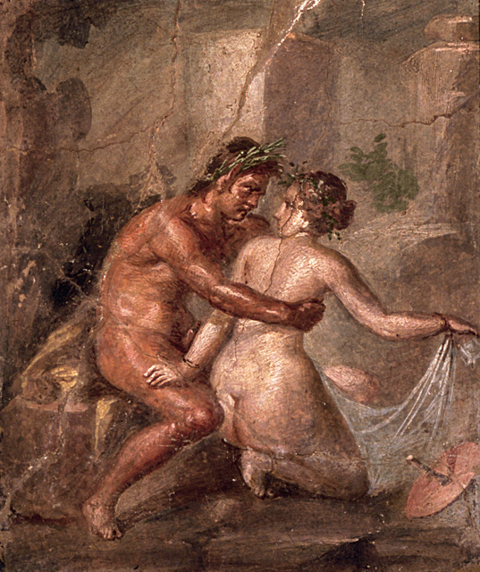 , 'Fresco of a satyr and a nymph,' , Montreal Museum of Fine Arts