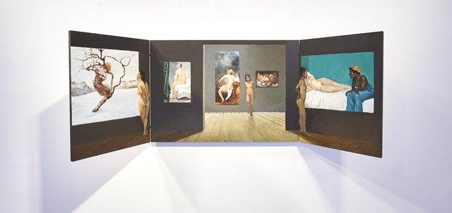 , '500 Jahre,' 2018, LEVY Galerie