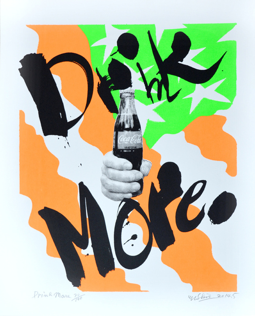 , 'Drink More,' 2014, Ronin Gallery