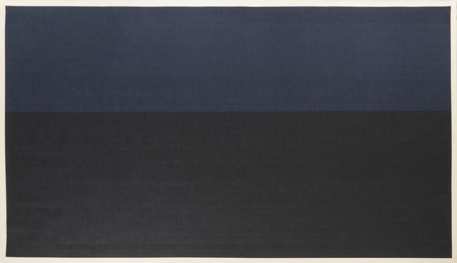 , 'Black and Dark Indigo,' 2014, On Stellar Rays
