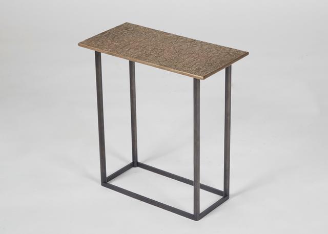 Douglas Fanning, 'Geometry Series, Rectangle #1, Hillock Cocktail Table', United States-2020, Design/Decorative Art, Cast Bronze, blackened steel, Maison Gerard