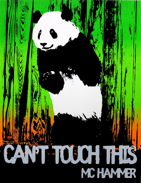, 'Motivational Panda (MC Hammer),' 2017, Rod Bianco Gallery