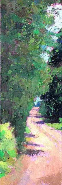 , 'Path with Splatter,' 2010-2017, Eisenhauer Gallery