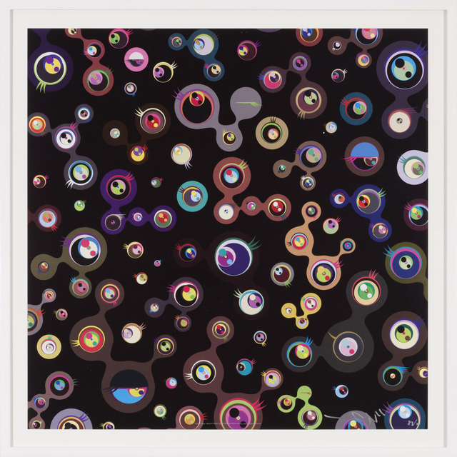 , 'Jellyfish Eyes - Black 5,' 2011, Gagosian
