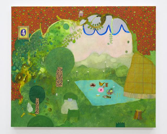 , 'Room in Green,' 2018, Tomio Koyama Gallery