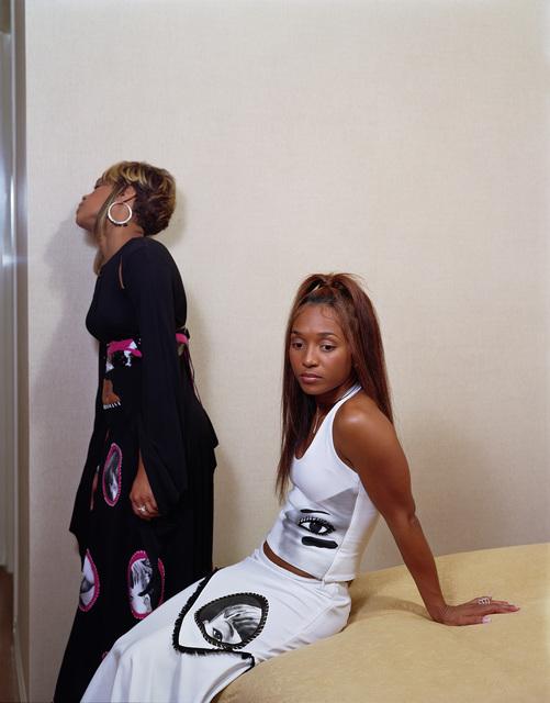 ", 'Tionne ""T-Boz"" Watkins and Rozonda ""Chilli"" Thomas (TLC), 2002,' 2018, GRIMM"