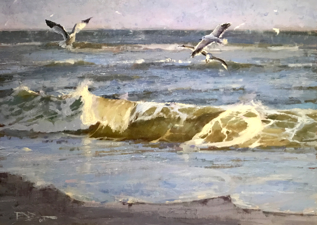, 'Atlantic Shore,' , Beverly McNeil Gallery