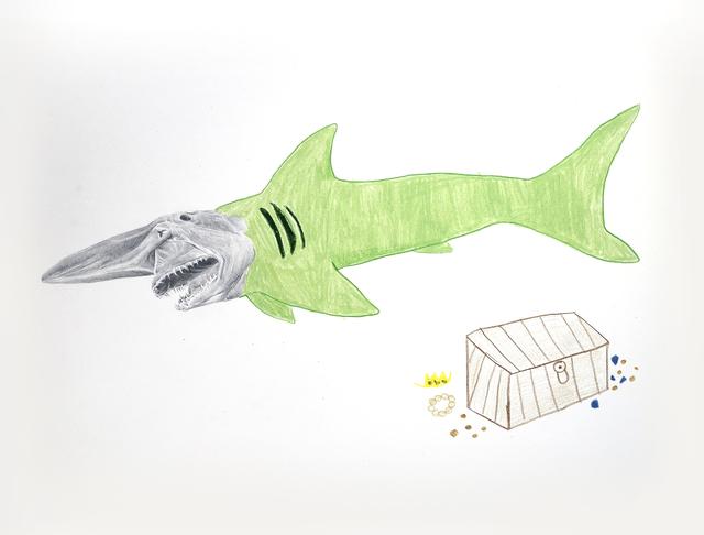 , 'El tiburón duende y su tesoro,' 2018, Galerie C.O.A