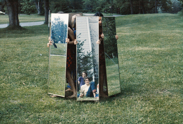 , 'Mirror performance I,' 1969, Galleria Raffaella Cortese