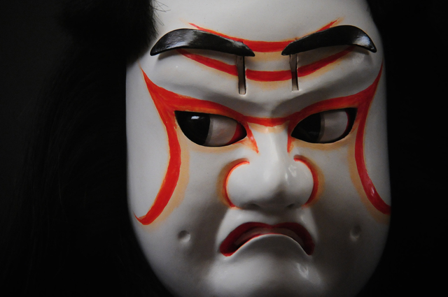 ", '""heads of Tengu Hisa"" Spirited face of wooden puppet,' 1991-1993, Photo Gallery Artisan"