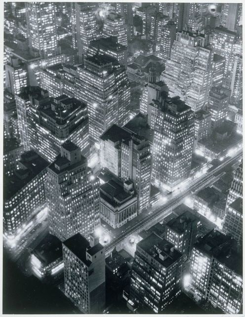 , 'New York at Night,' 1931, Phillips Collection