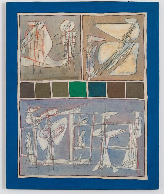 , 'Lo Scopo dell Vita,' 1962, Galleria Tega