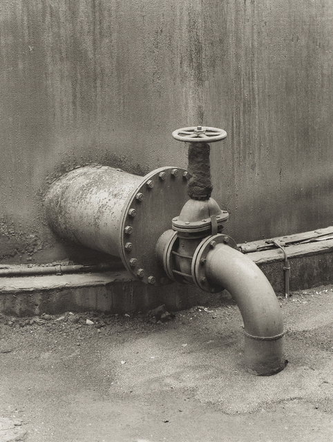 Bernd and Hilla Becher, 'Pipe Detail: Coal Mine', 1990-91, Independent Curators International (ICI)