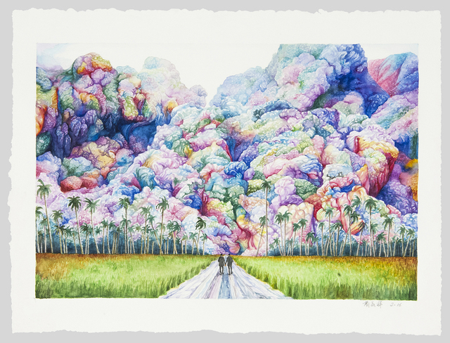, 'Journey in the Clouds 云图 No.3,' 2016, ART LABOR Gallery