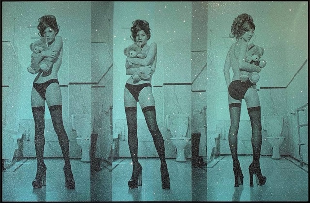 Russell Young, 'Kate Moss Triptych', 2018, Art Angels