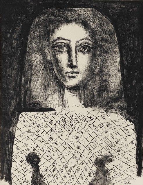 Pablo Picasso, 'Le Corsage à Carreux', 1949, Christie's