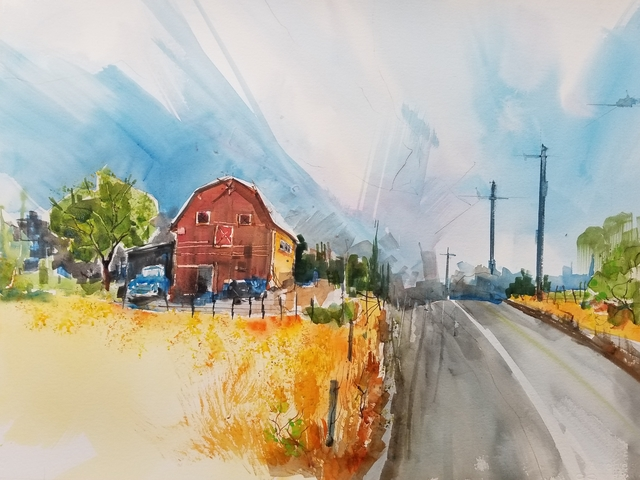 , 'Louden Road,' 2017, J. Pepin Art Gallery